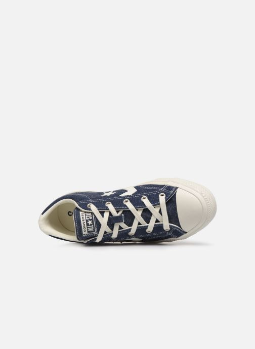 Trainers Converse Star Player Sun Backed Ox W Blue view from the left