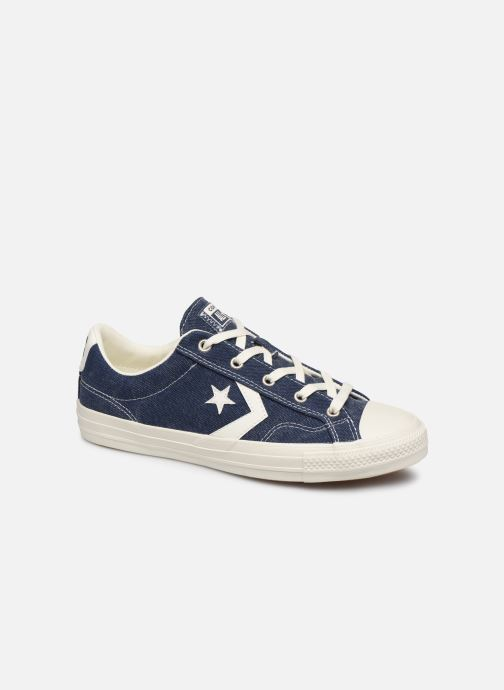 Trainers Converse Star Player Sun Backed Ox W Blue detailed view/ Pair view