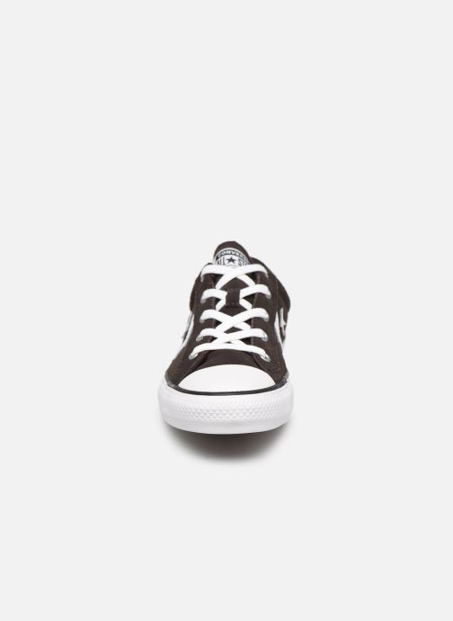 Trainers Converse Star Player Ox Velvet W Brown model view