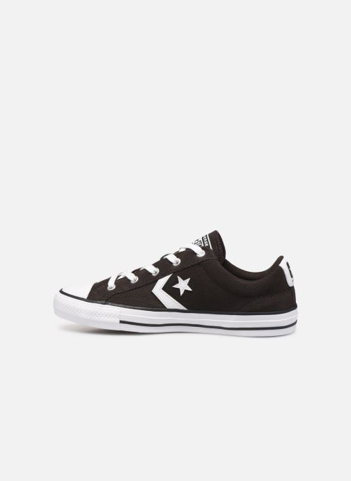 Trainers Converse Star Player Ox Velvet W Brown front view