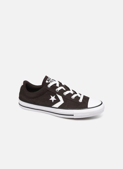 Sneakers Converse Star Player Ox Velvet W Bruin detail