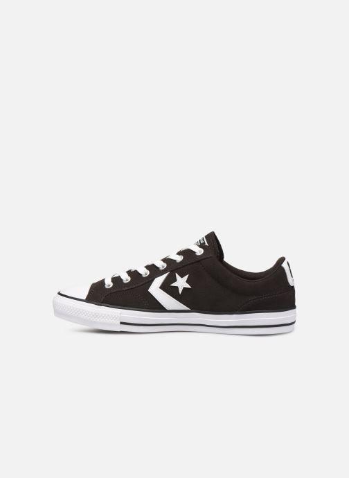 Sneakers Converse Star Player Ox Velvet M Sort se forfra