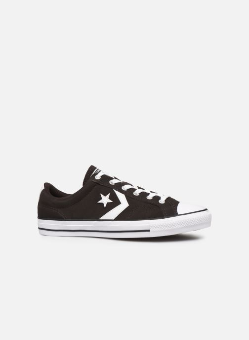 Trainers Converse Star Player Ox Velvet M Black back view