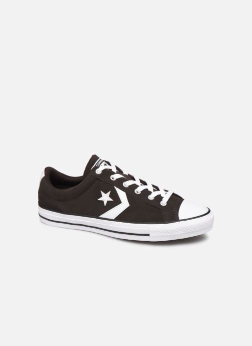 Trainers Converse Star Player Ox Velvet M Black detailed view/ Pair view