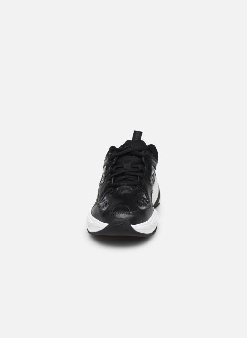 Sneaker Nike W Nike M2K Tekno Ess schwarz schuhe getragen