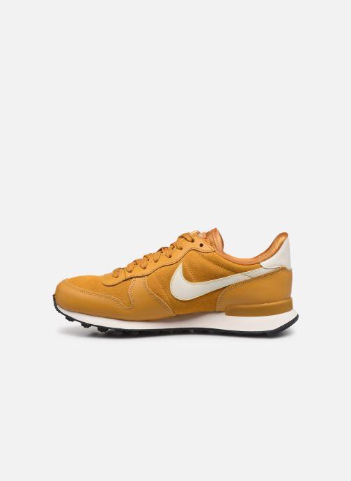Sneaker Nike Nike Internationalist Se gelb ansicht von vorne