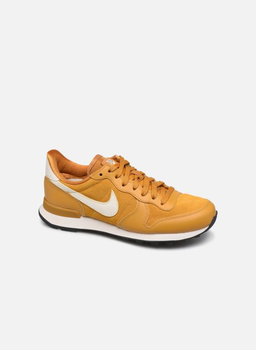 Baskets Nike Nike Internationalist Se Jaune vue détail/paire
