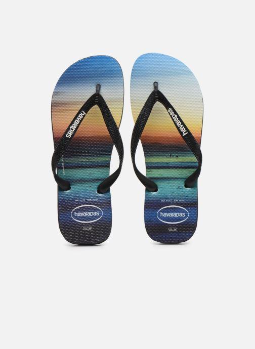 Tongs Havaianas HAV. HYPE Multicolore vue portées chaussures