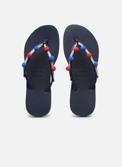 Slippers Havaianas HAV. SLIM BOHO Blauw model