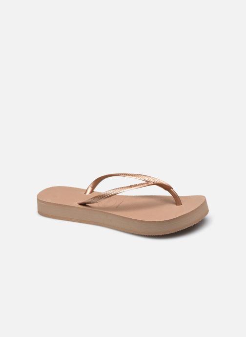 Slippers Havaianas Hav. Slim Flatform W Roze detail