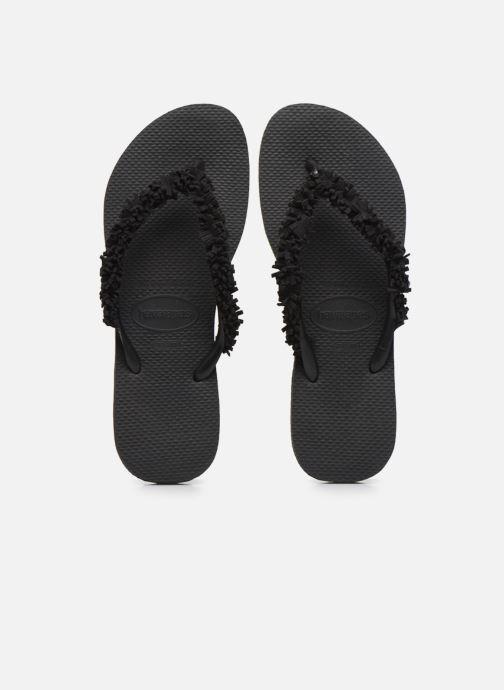 Slippers Havaianas HAV. SLIM FRINGE Zwart model