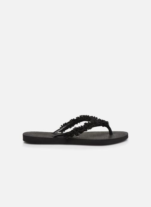 Slippers Havaianas HAV. SLIM FRINGE Zwart achterkant