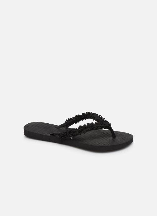 Slippers Havaianas HAV. SLIM FRINGE Zwart detail