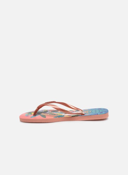 Chanclas Havaianas HAV. SLIM TROPICAL Multicolor vista de frente