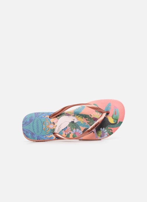 Chanclas Havaianas HAV. SLIM TROPICAL Multicolor vista lateral izquierda