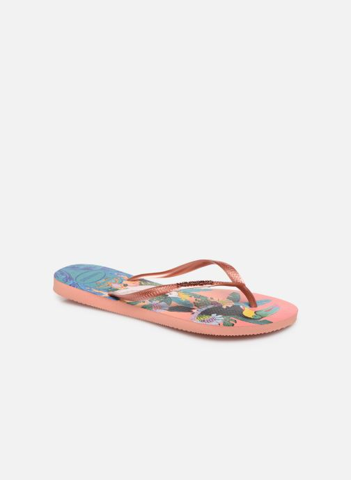 Chanclas Havaianas HAV. SLIM TROPICAL Multicolor vista de detalle / par