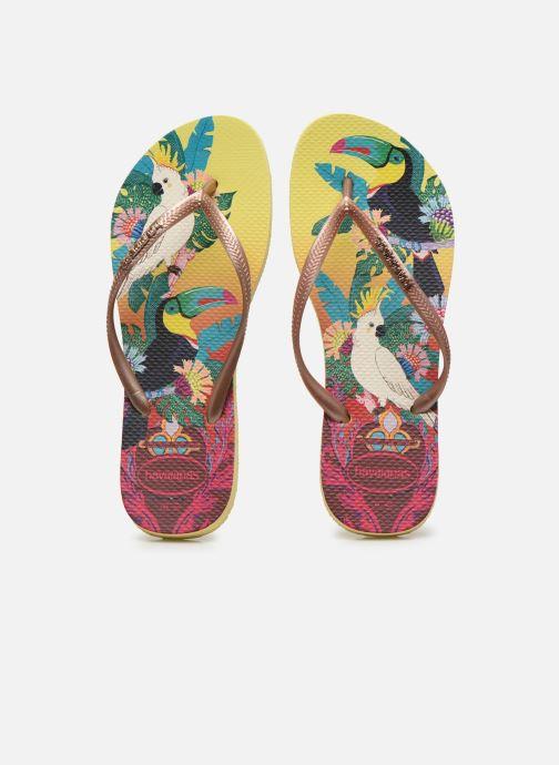 Chanclas Havaianas HAV. SLIM TROPICAL Multicolor vista del modelo