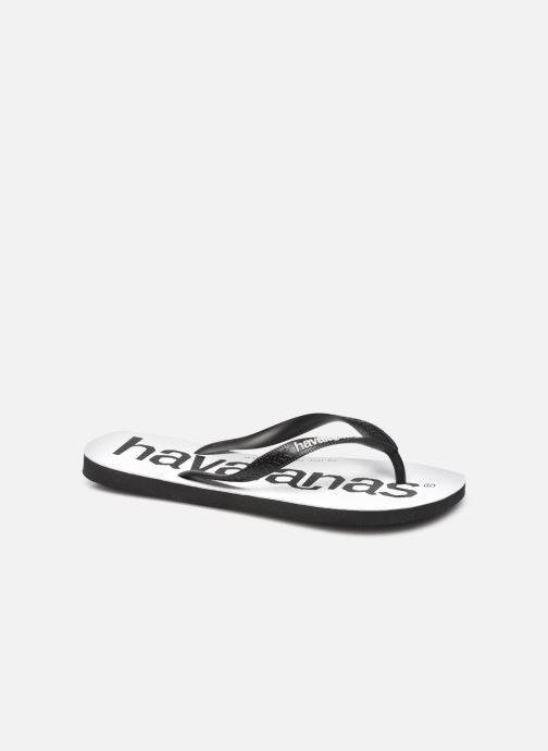Tongs Havaianas Hav. Top Logomania M Noir vue détail/paire