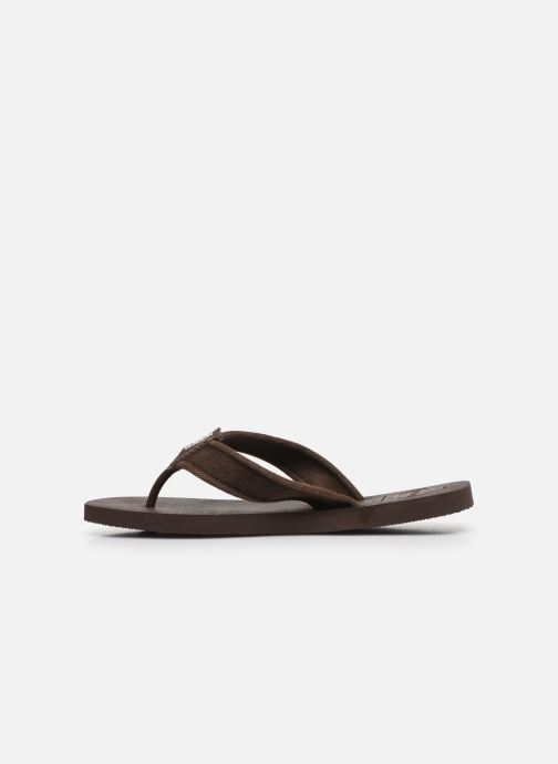 Tongs Havaianas HAV. URBAN BASIC II Marron vue face