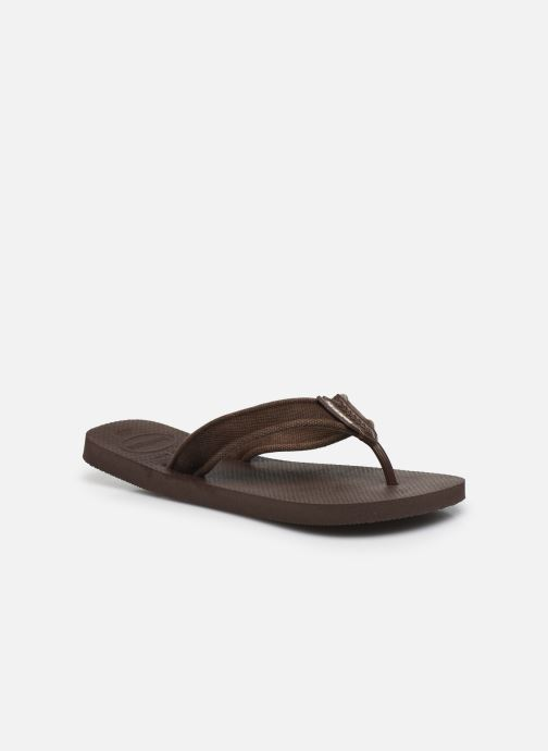 Tongs Havaianas HAV. URBAN BASIC II Marron vue détail/paire