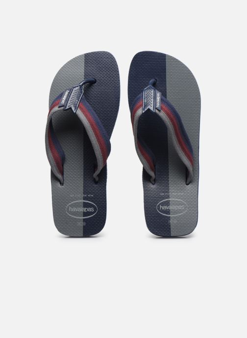 Chanclas Havaianas HAV. URBAN COLOR BLOCK Azul vista del modelo
