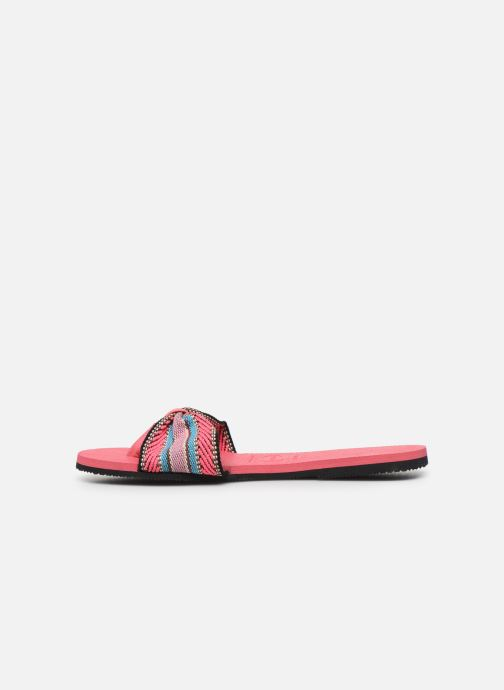 Tongs Havaianas HAV. YOU SAINT TROPEZ FITA Rose vue face