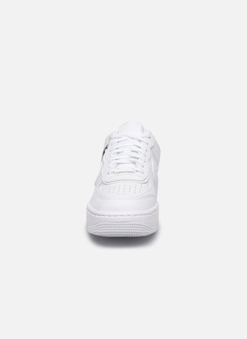 Baskets Nike W Af1 Shadow Blanc vue portées chaussures