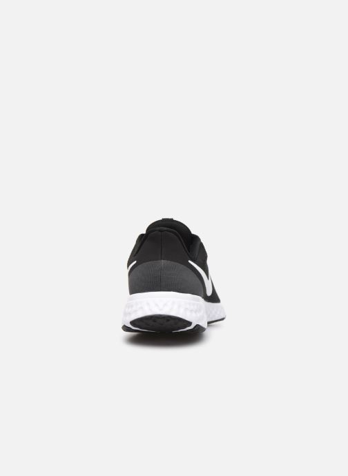 Trainers Nike Nike Revolution 5 Black view from the right