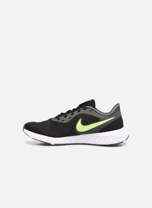Sneaker Nike Nike Revolution 5 schwarz ansicht von vorne