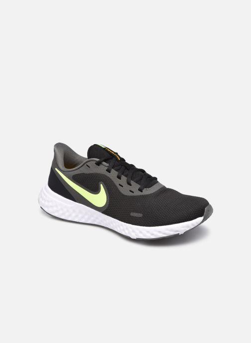 Deportivas Nike Nike Revolution 5 Negro vista de detalle / par