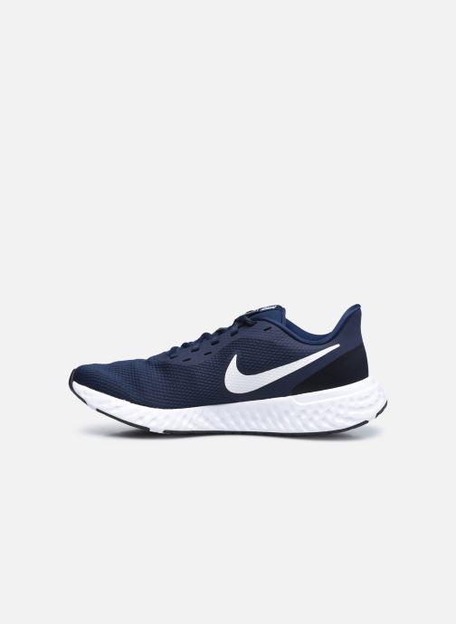 Deportivas Nike Nike Revolution 5 Azul vista de frente
