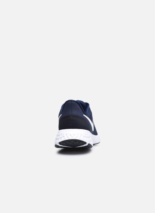 Deportivas Nike Nike Revolution 5 Azul vista lateral derecha