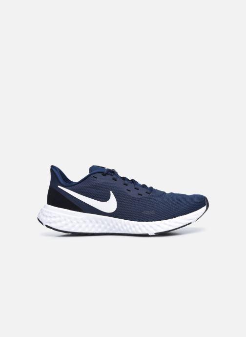 Deportivas Nike Nike Revolution 5 Azul vistra trasera