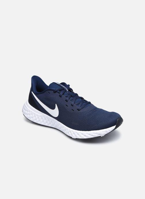 Baskets Nike Nike Revolution 5 Bleu vue détail/paire