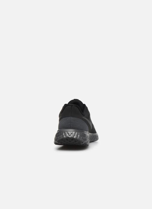 Deportivas Nike Wmns Nike Revolution 5 Negro vista lateral derecha