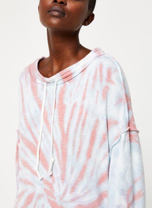 Free People Sweatshirt - Best Catch Tie Dye Tee (Blanc) - Vêtements chez Sarenza (411239) 4y0LV