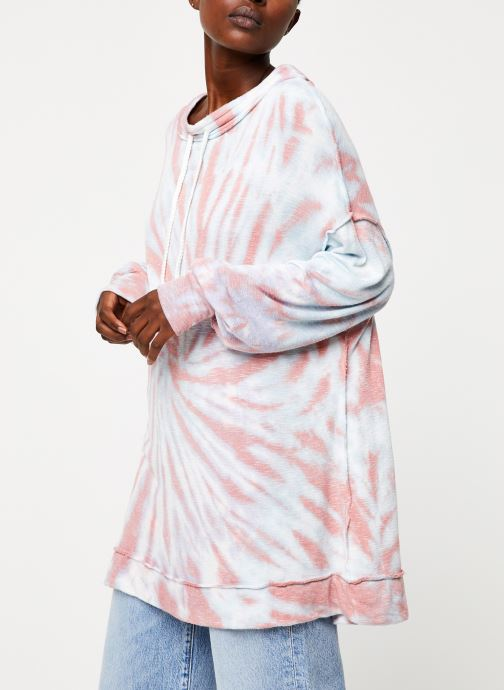 Vêtements Free People BEST CATCH TIE DYE TEE Blanc vue droite