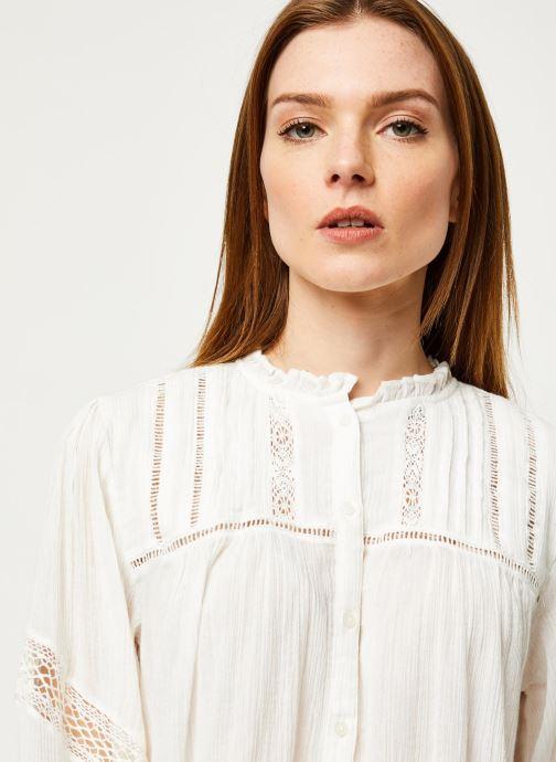 Vêtements Free People EMMA BUTTONDOWN Beige vue face