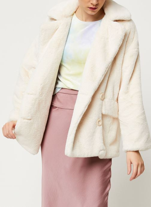 Manteau mi-long - Solid Kate Faux Fur Coat