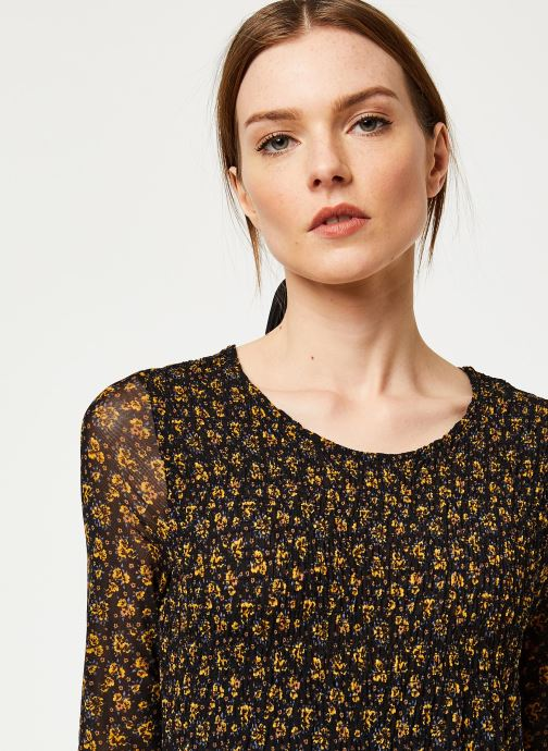 Vêtements Free People HELLO AND GOODYBYE MIDI Noir vue face