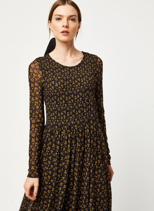 Vêtements Free People HELLO AND GOODYBYE MIDI Noir vue droite