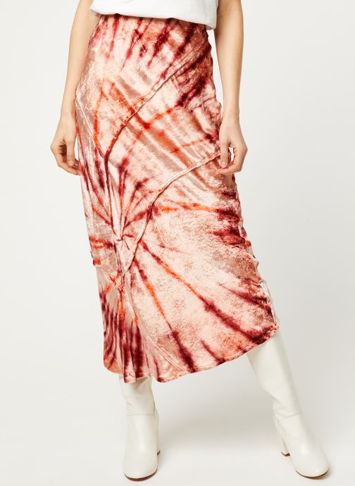 Kleding Free People BALI SERIOUS SWAGGER TIE Rood detail