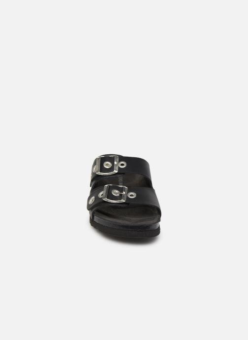 Mules & clogs Vero Moda Vmlaura Leather Sandal Black model view