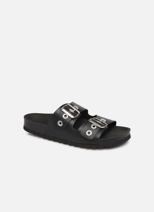 Mules & clogs Vero Moda Vmlaura Leather Sandal Black detailed view/ Pair view