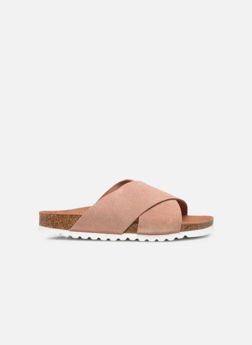 Wedges Vero Moda Vmholly Leather Sandal Roze achterkant