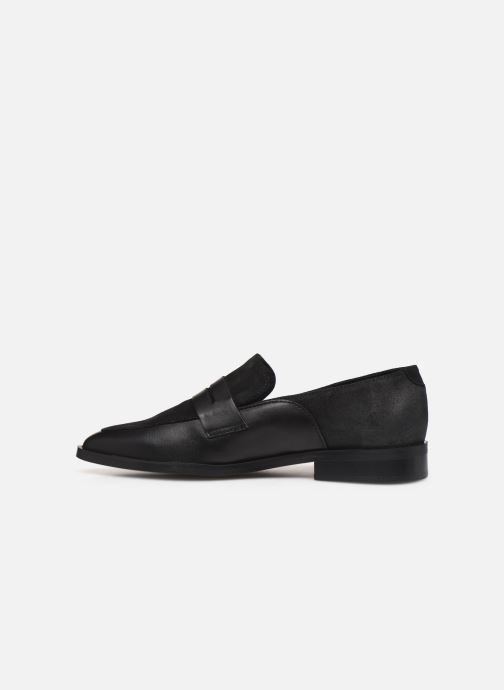 Mocassins Vero Moda Vmtrine Leather Loafer Noir vue face