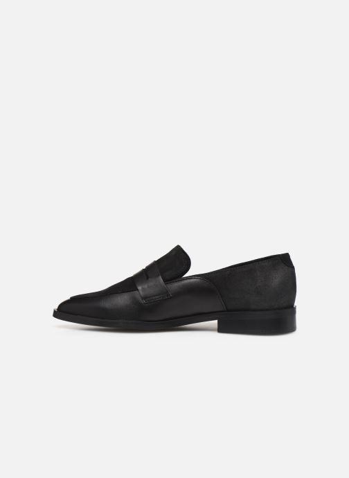 Mocassini Vero Moda Vmtrine Leather Loafer Nero immagine frontale