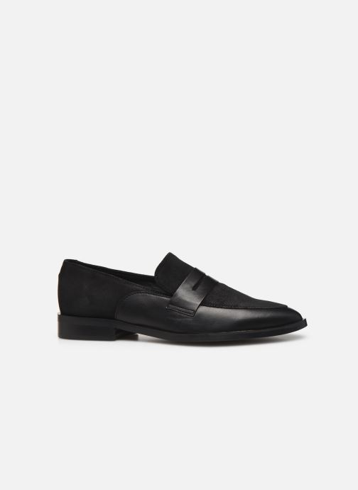 Loafers Vero Moda Vmtrine Leather Loafer Black back view