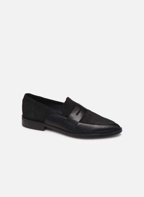 Loafers Vero Moda Vmtrine Leather Loafer Black detailed view/ Pair view
