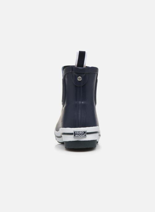 Botines  Vero Moda Vmandrea Boot Azul vista lateral derecha